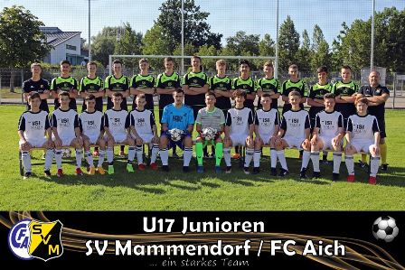 Teamfoto B1-Junioren Saison 2019/2020
